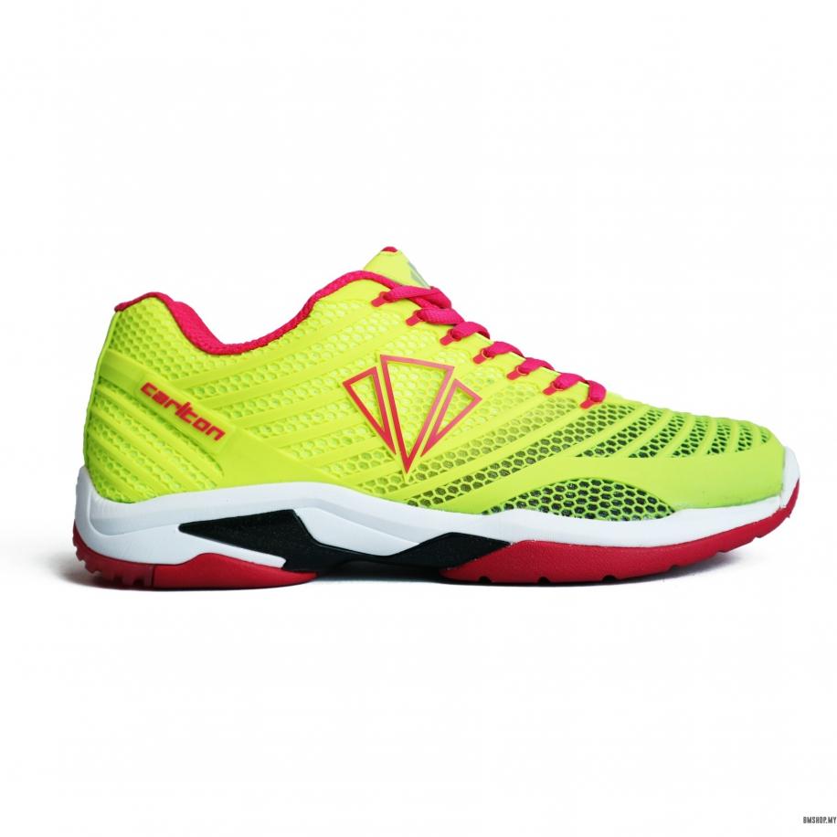 Carlton Shoe Speed Court XT1 NEON/GREEN