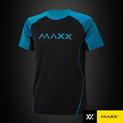MAXX Shirt Fashion Tee MXFT028 Black/Blue