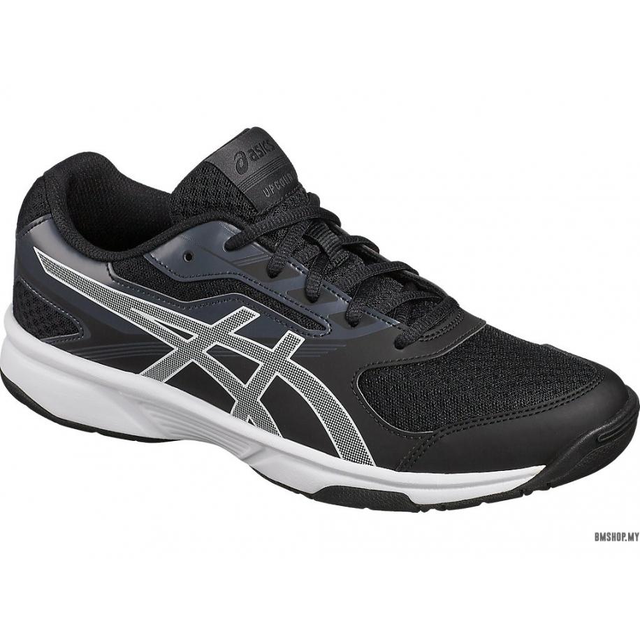 Asics Shoe Upcourt 2 (Black/White/Dark Grey)