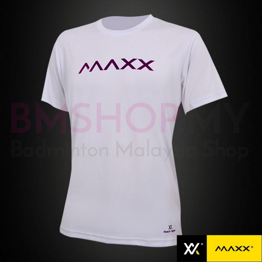 MAXX Shirt Fashion Plain Tee MXFPT019V2 (White)