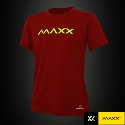 MAXX Shirt Fashion Plain Tee MXFPT008V2 (Maroon)