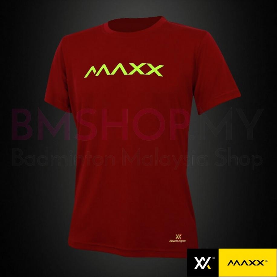 MAXX Shirt Fashion Plain Tee MXFPT009V2 (Yellow)