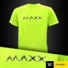 MAXX Shirt Plain Tee MXPT014V7 (Neon Green)