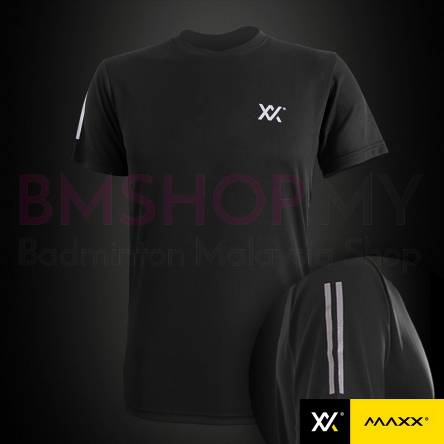 MAXX Shirt Light Cool Tee MX-T15 Black