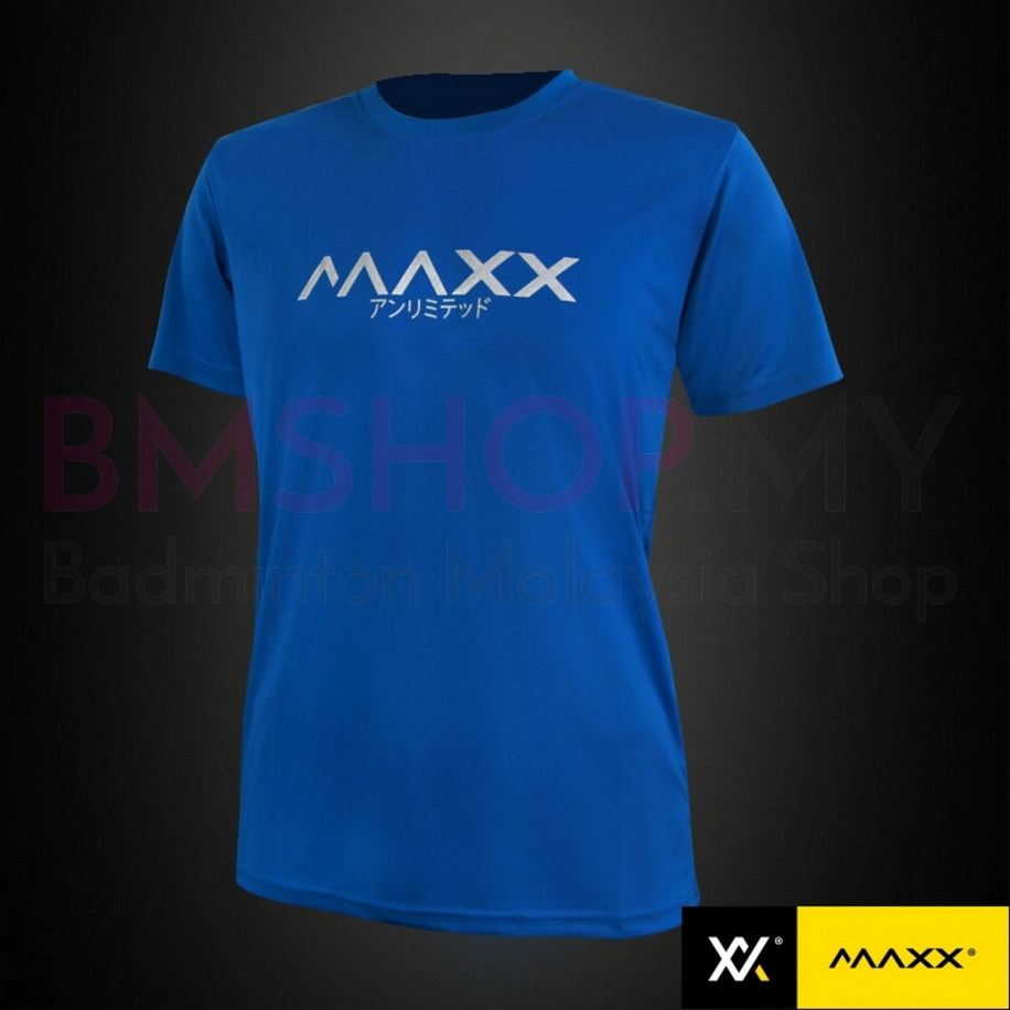 MAXX Shirt Fashion Tee MXFPT003 Royal Blue