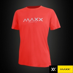 MAXX Shirt Fashion Tee MXFPT007 Highlight Orange