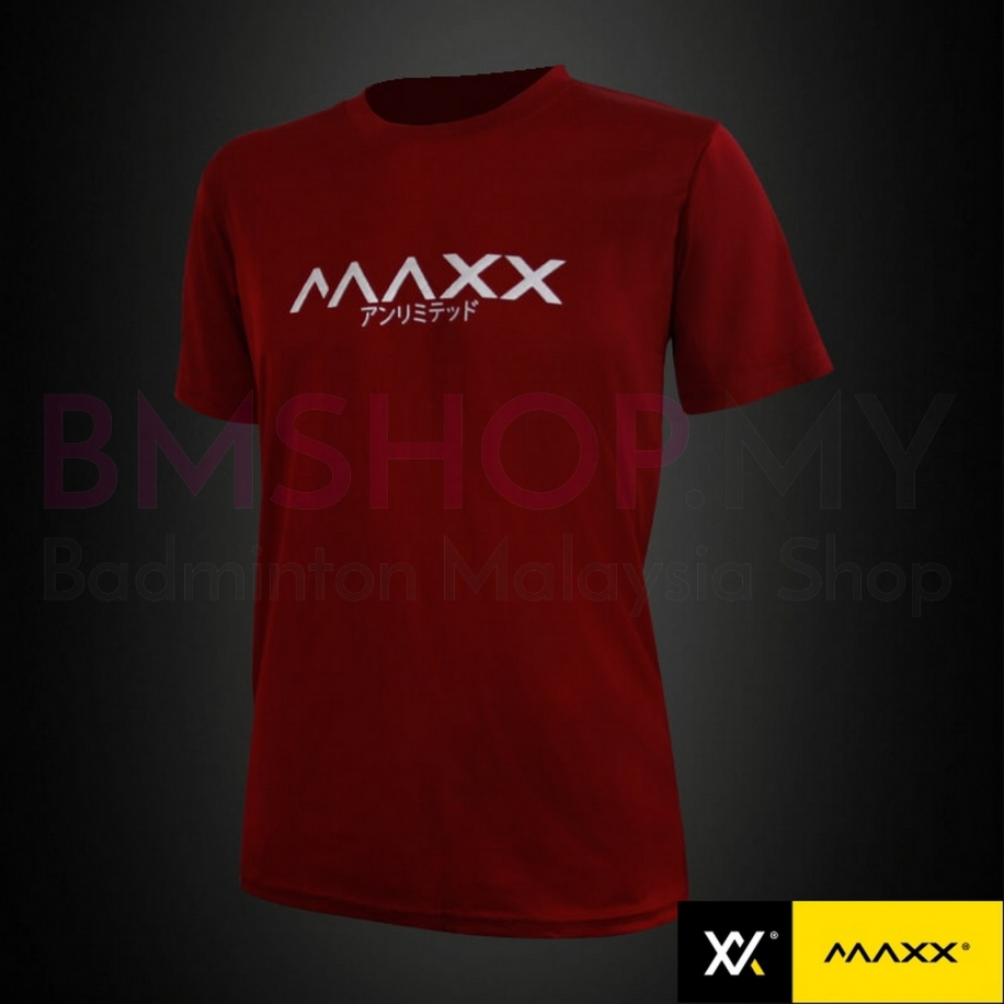 MAXX Shirt Fashion Tee MXFPT008 Wine Red