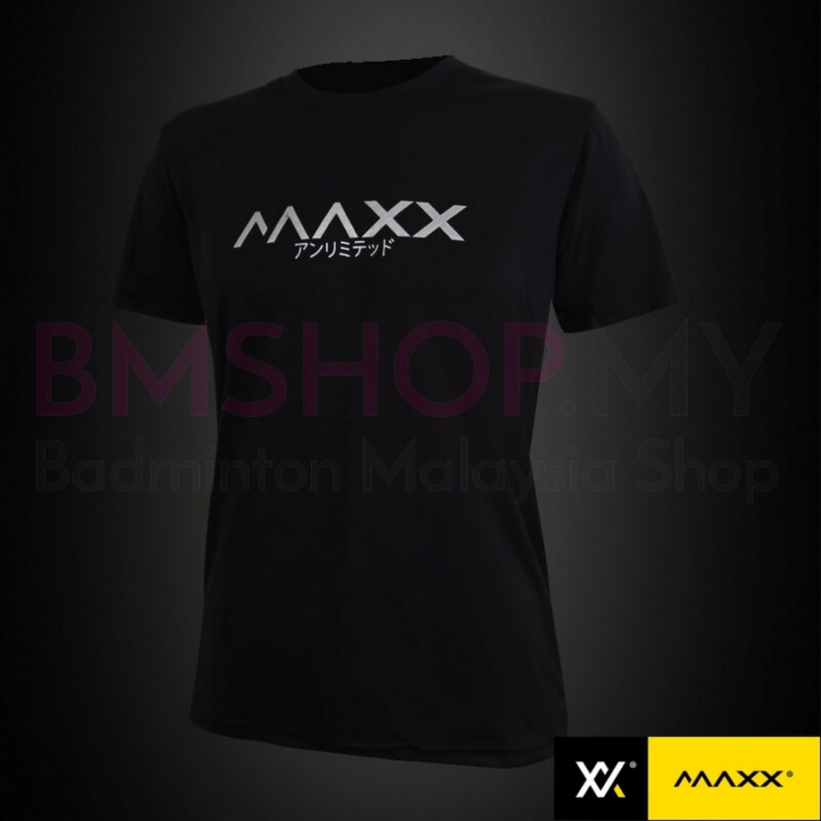 MAXX Shirt Fashion Tee MXFPT015 Black