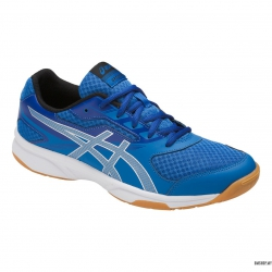 Asics Shoe Upcourt 2 (Blue/Silver/Dark Grey)