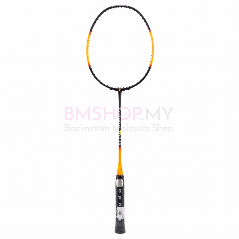 Apacs Racket Training Racket W-140 Black Orange