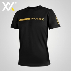MAXX Shirt Fashion Tee MXFT050 Black Gold