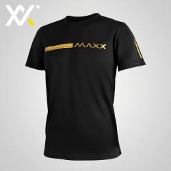 MAXX Shirt Fasion Tee MXGT050 Black Gold