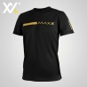 MAXX Shirt Fasion Tee MXFT050 Black Gold