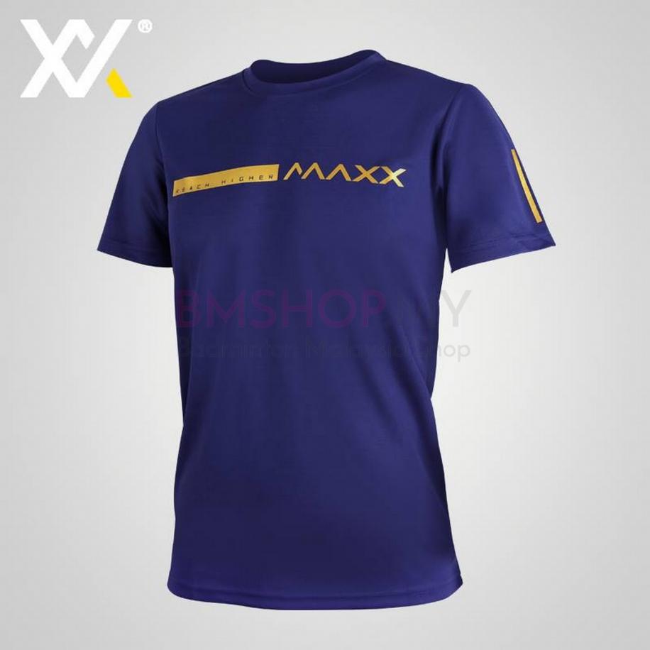 MAXX Shirt Fasion Tee MXGT050 Blue Gold