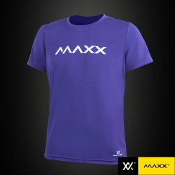 MAXX Shirt Plain Tee MXPT006 Purple