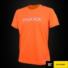 MAXX Shirt Plain Tee MXPT007 Highlight Orange