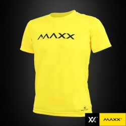 MAXX Shirt Plain Tee MXPT009 Yellow