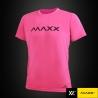 MAXX Shirt Plain Tee MXPT010 Pink
