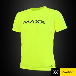 MAXX Shirt Plain Tee MXPT014 Highlight Green