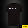 MAXX Shirt Plain Tee MXPT015 Black