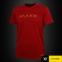 MAXX Shirt Plain Tee MXPT008 V3 Wine Red