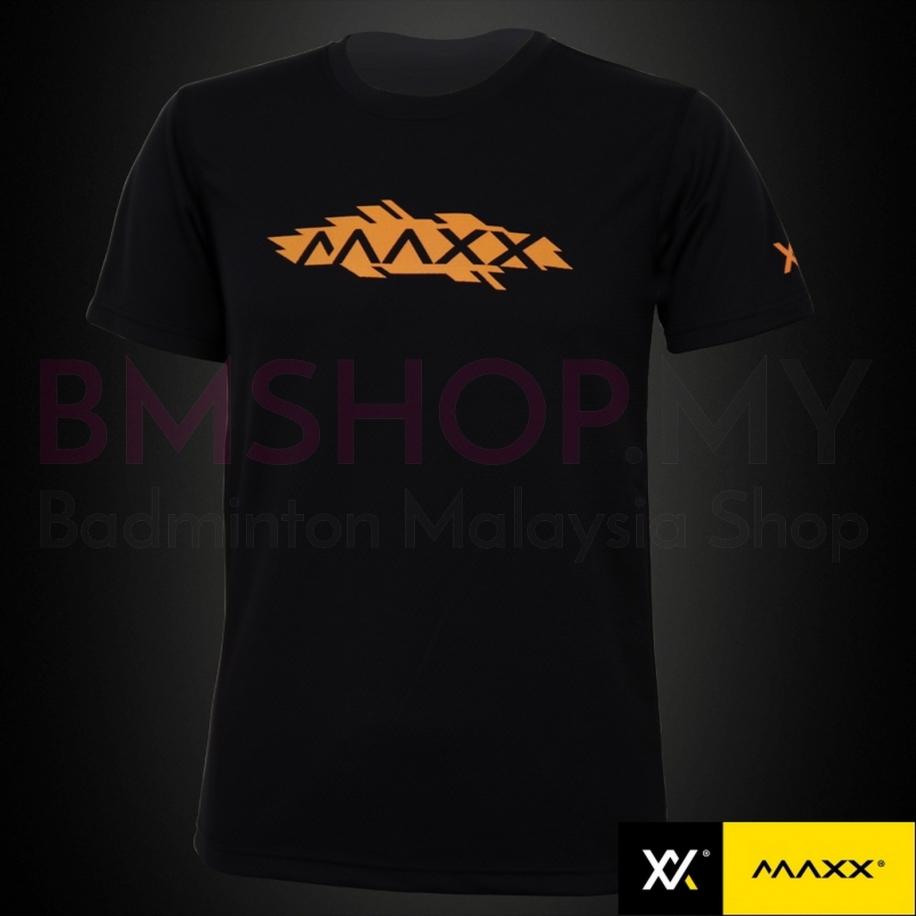MAXX Shirt Plain Tee MXPT015 V8 Black