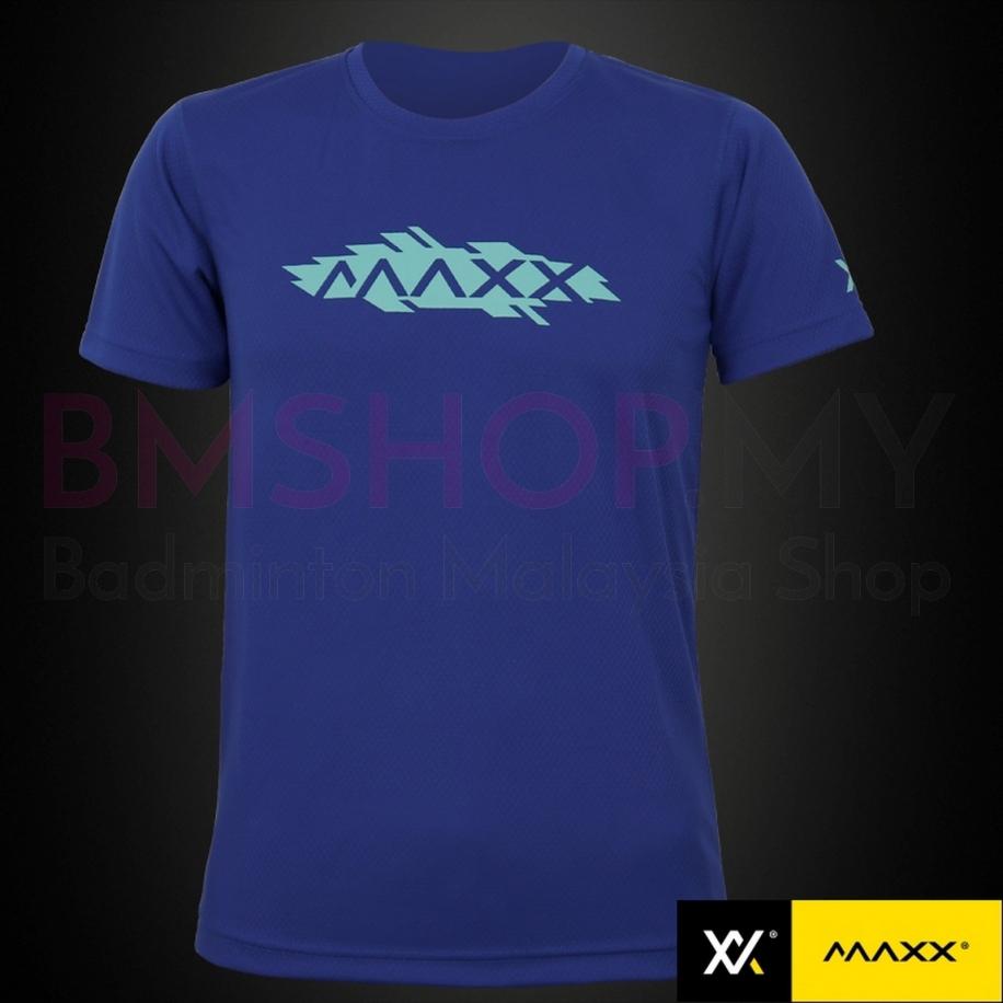 MAXX Shirt Plain Tee MXPT03 V8 Blue
