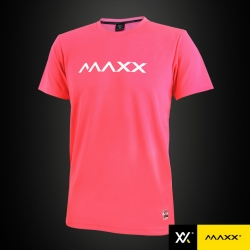 MAXX Shirt Plain Tee MXPT022 Coral Red