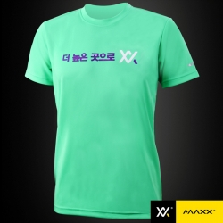 MAXX Shirt Plain Tee Korea Series MXPT-K16 Tiffany Green
