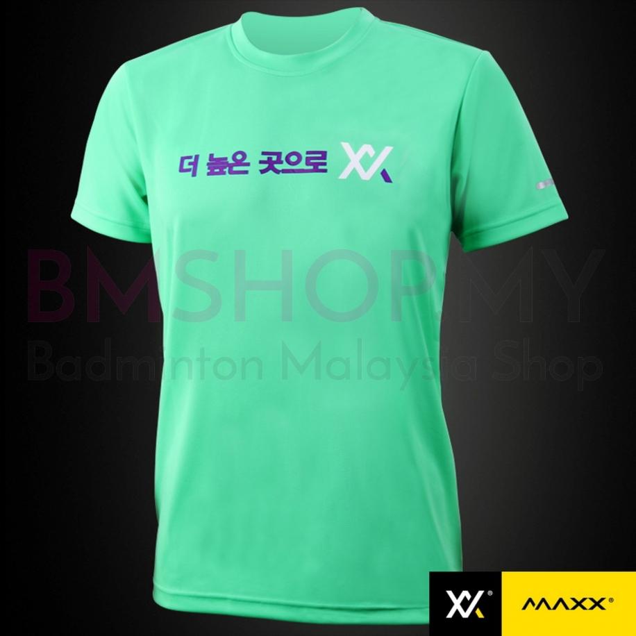 MAXX Shirt Plain Tee Korea Series MXPT-K16 Tiffany Green