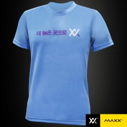 MAXX Shirt Plain Tee Korea Series MXPT-K13 Light Blue