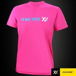 MAXX Shirt Plain Tee Korea Series MXPT-K10 Pink