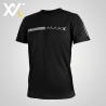 MAXX Shirt Fasion Tee MXFT050 Black Silver