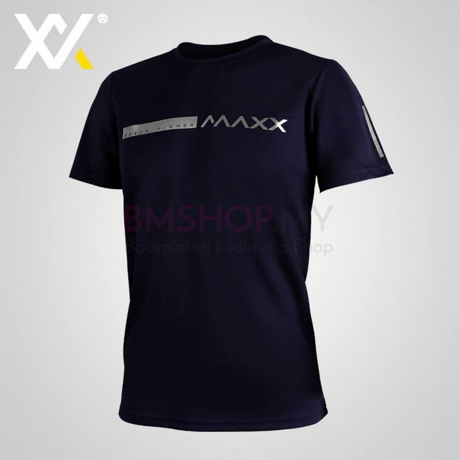 MAXX Shirt Fasion Tee MXFT050 Navy Silver