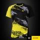 MAXX Shirt Tournament MXSET007T (Yellow)