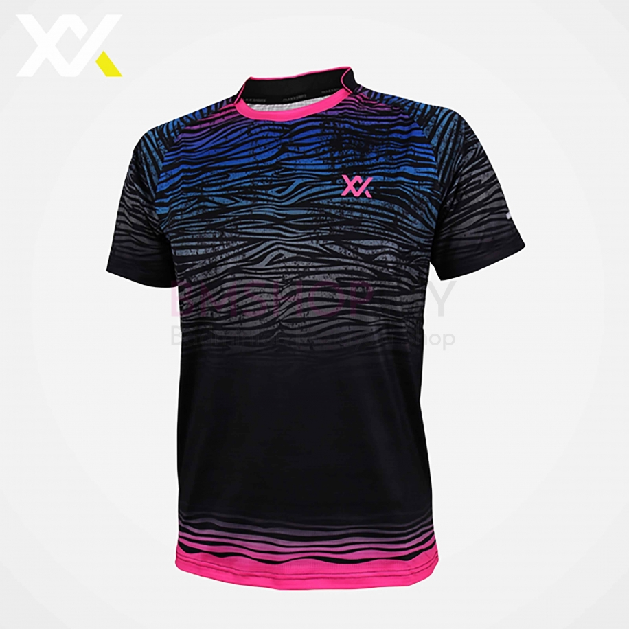 MAXX Shirt Tournament Tee MXSET020T (Black)