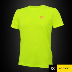 MAXX Shirt Light Cool Tee Highlight Green