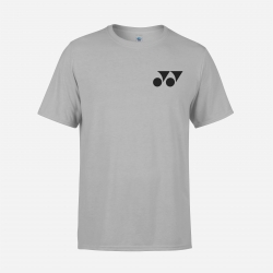 Yonex shirt Training Tee 14001 Light Grey/Black (Original)