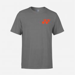 Yonex shirt Training Tee 41001 Grey/Red (Original)