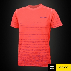 MAXX Shirt Fashion Tee MXFT034 Highlight Orange