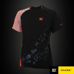MAXX Shirt Tournament Tee MXSET005T (Orange)