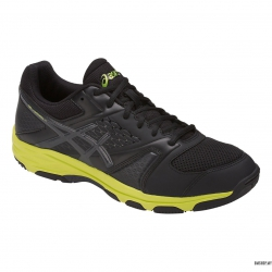 Asics Shoe Gel-Domain 4 E609Y-9095 ( Black/Dark Grey/Energy Green)