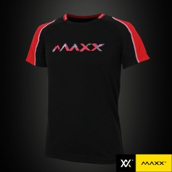 MAXX Shirt Fashion Tee MXFT036 Black/Red