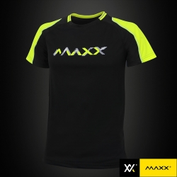 MAXX Shirt Fashion Tee MXFT036 Black/Green
