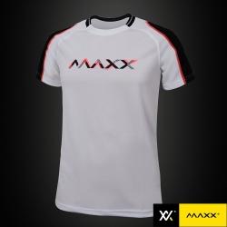 MAXX Shirt Fashion Tee MXFT036 White/Black