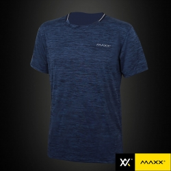 MAXX Shirt Fashion Tee MXFT021 Navy Blue