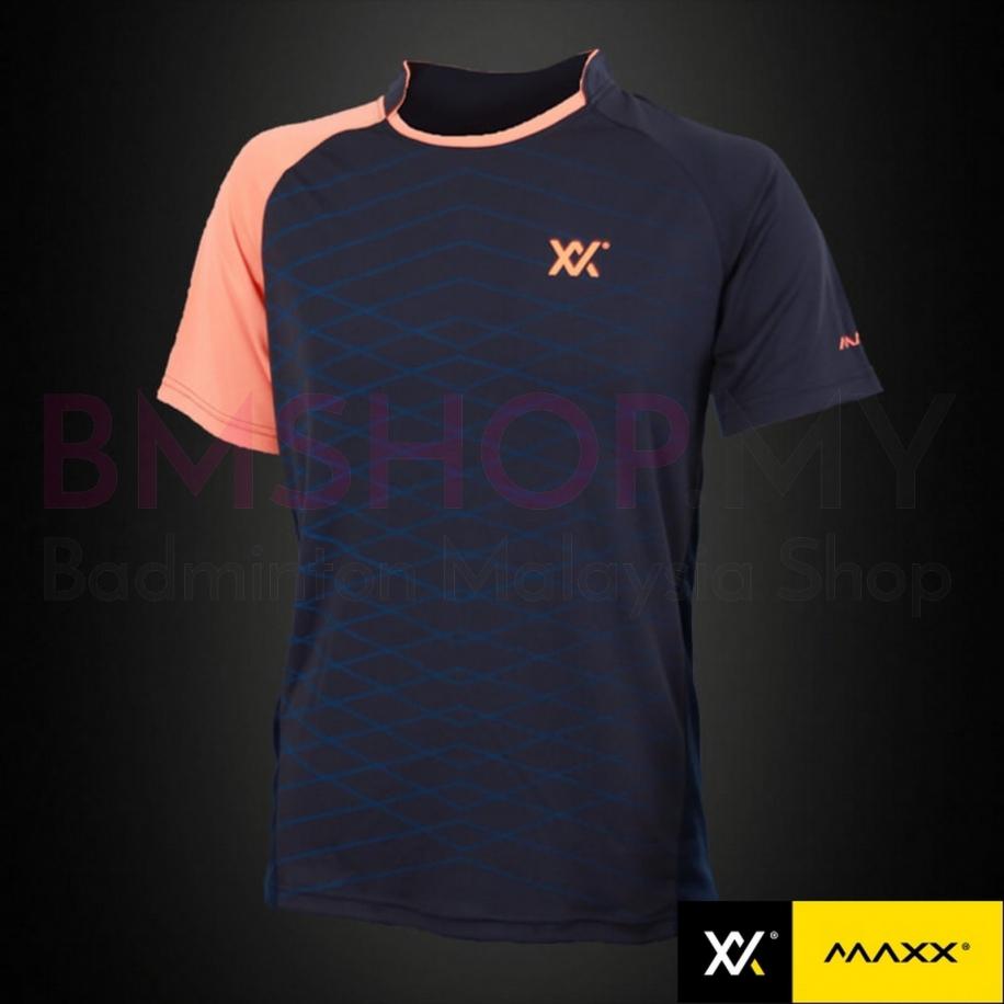 MAXX Shirt MXTS03 Navy/Orange