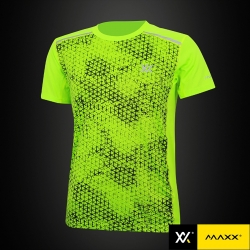 MAXX Shirt Fashion Tee MXFT024 Highlight Green