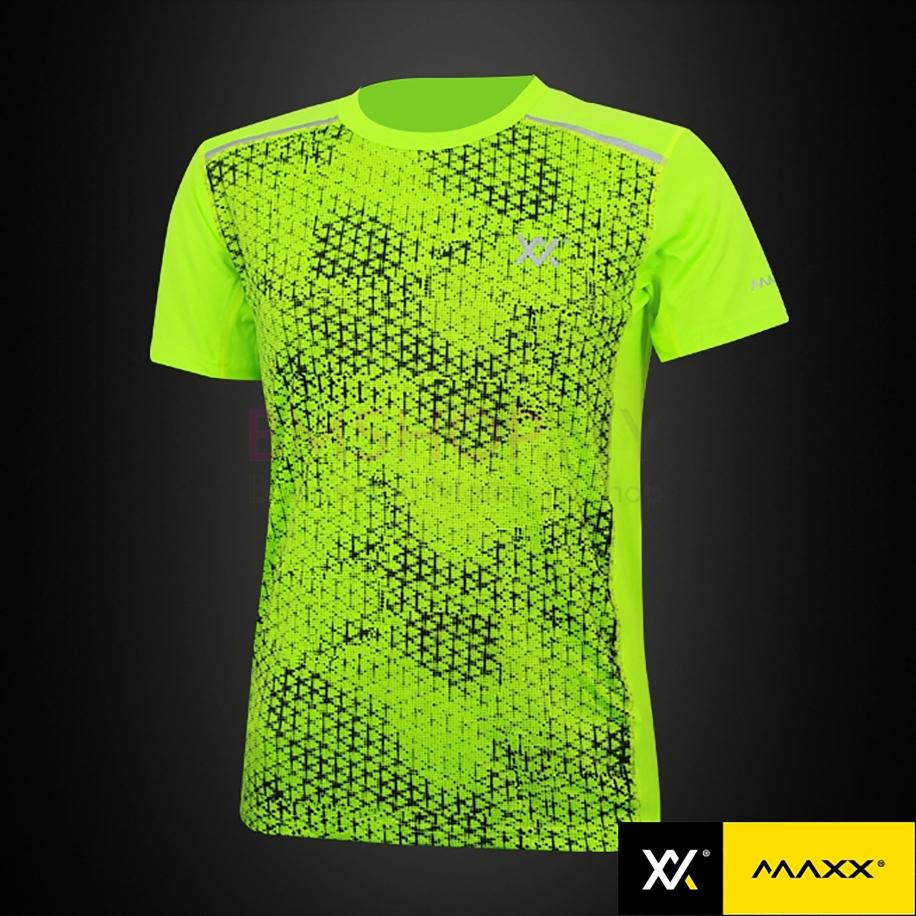 MAXX Shirt Fashion Tee MXFT024 Highlight Green 50% OFF