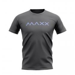 MAXX Shirt New Plain Tee MX-NV04 Dark Grey